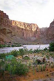 catarct canyon camping